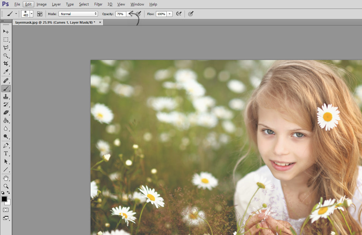 Using Photoshop Layer Masks to Speed Up Your Workflow