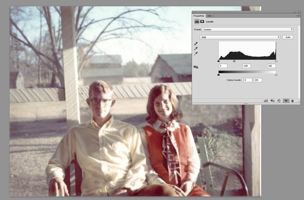 Photo Restoration Photoshop