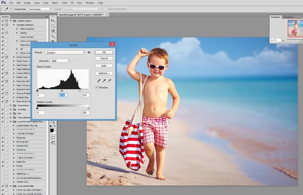 blending sky overlays in photoshop