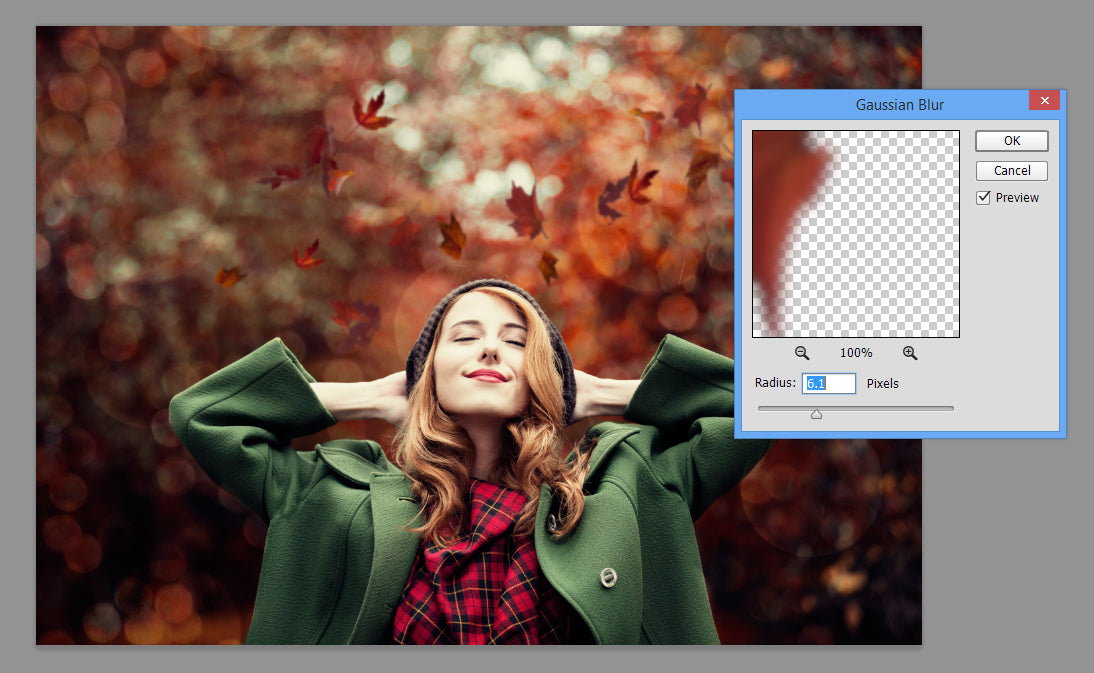 Make Your Fall Images Pop Using the Falling Leaves Photoshop Actions and Overlays