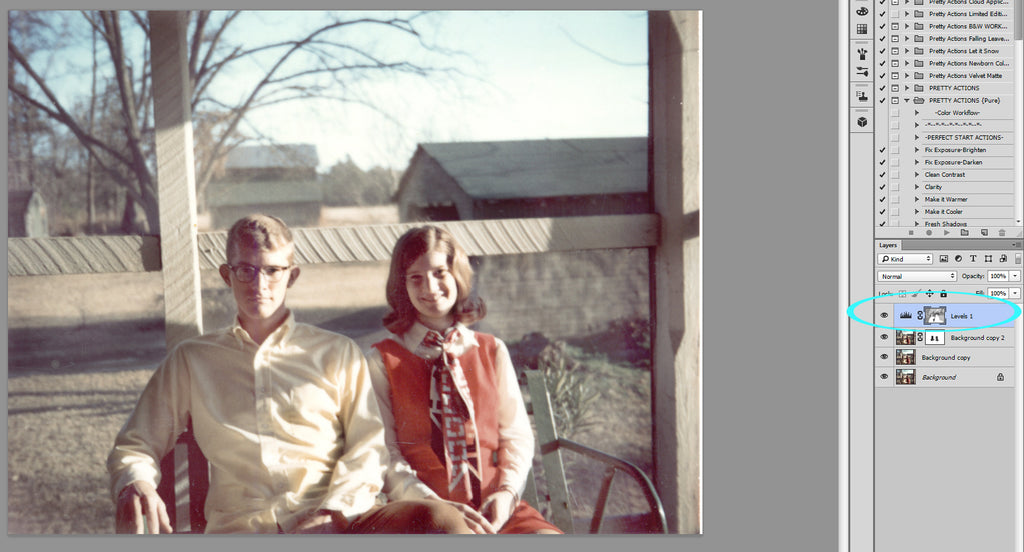 How to Restore Vintage photos