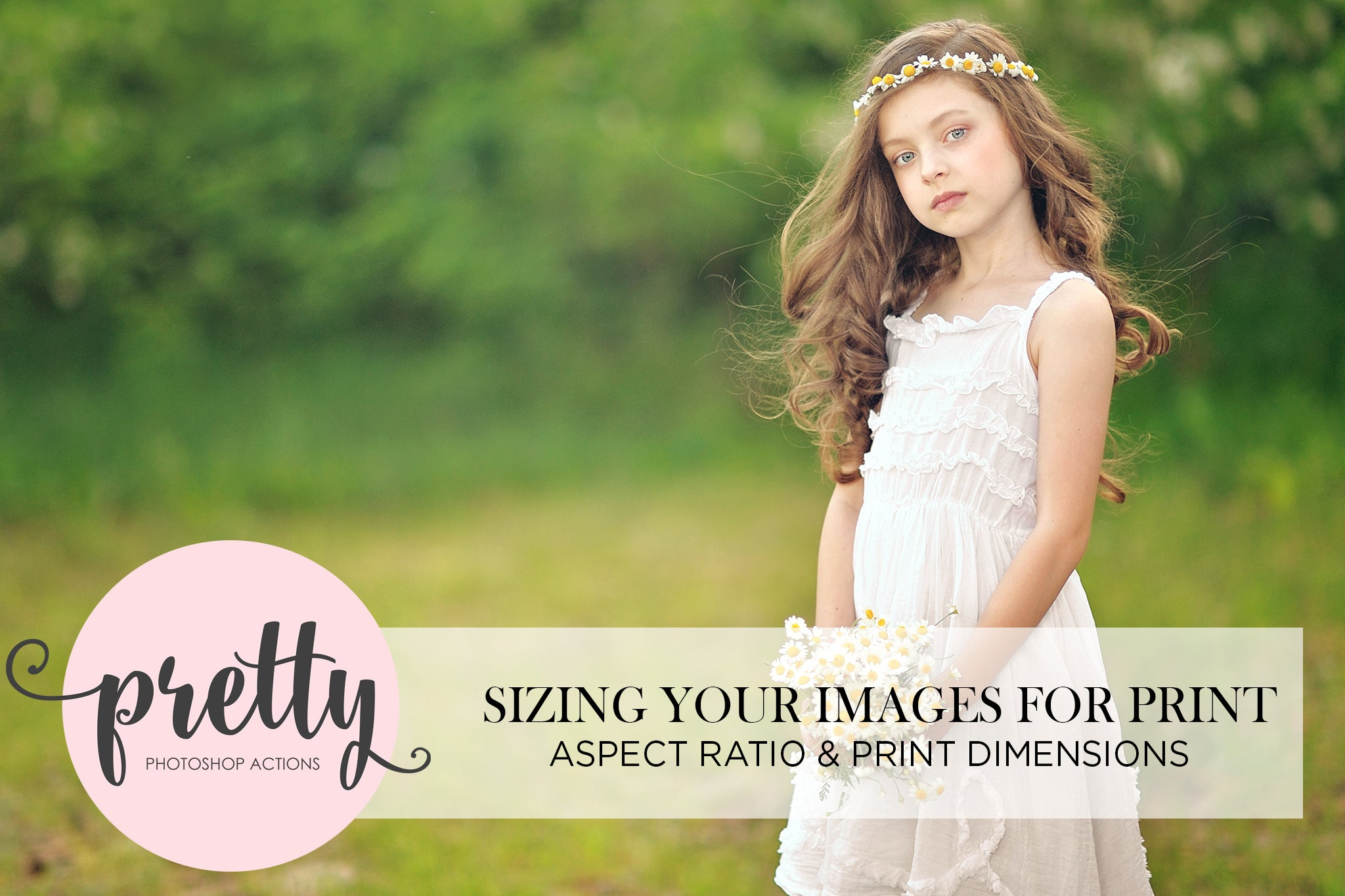 sizing your images for print