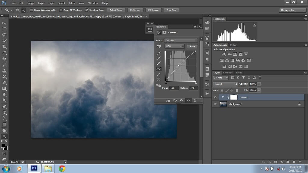 Compositing in Photoshop