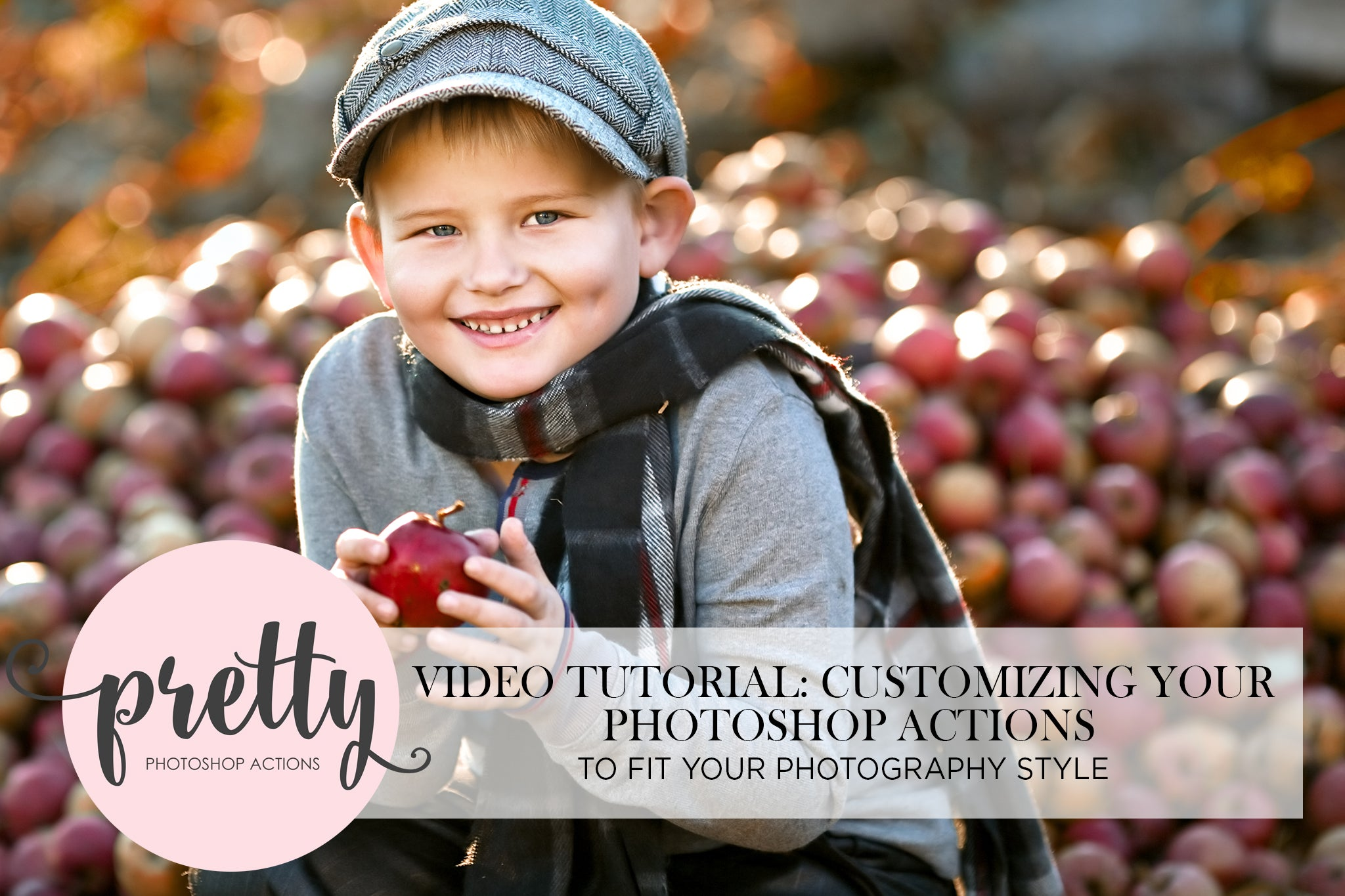 Customizing Your Pretty Actions in Photoshop to Fit Your Style