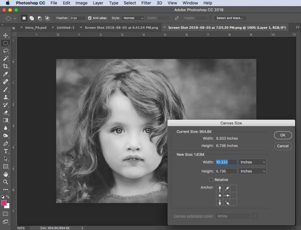 How to Extend Picture in Photoshop