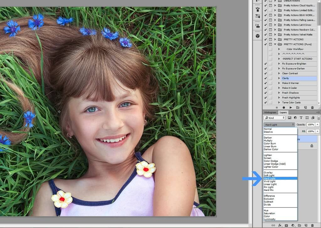 High Pass Sharpening in Photoshop