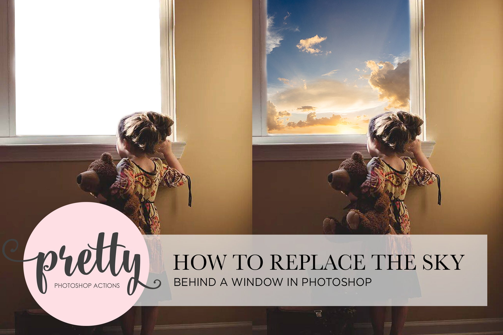 How to Replace the Sky in Photoshop - Pretty Photoshop Actions Tutorial