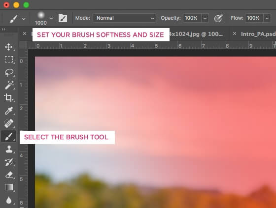 Creating a Light Leak Effect in Photoshop