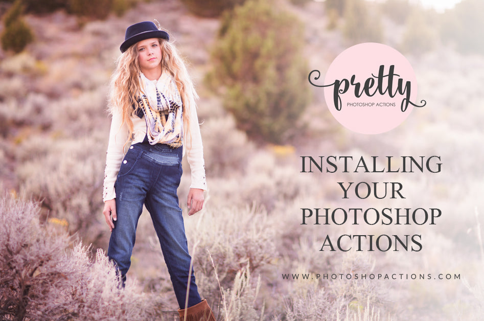 How to Install Photoshop Actions