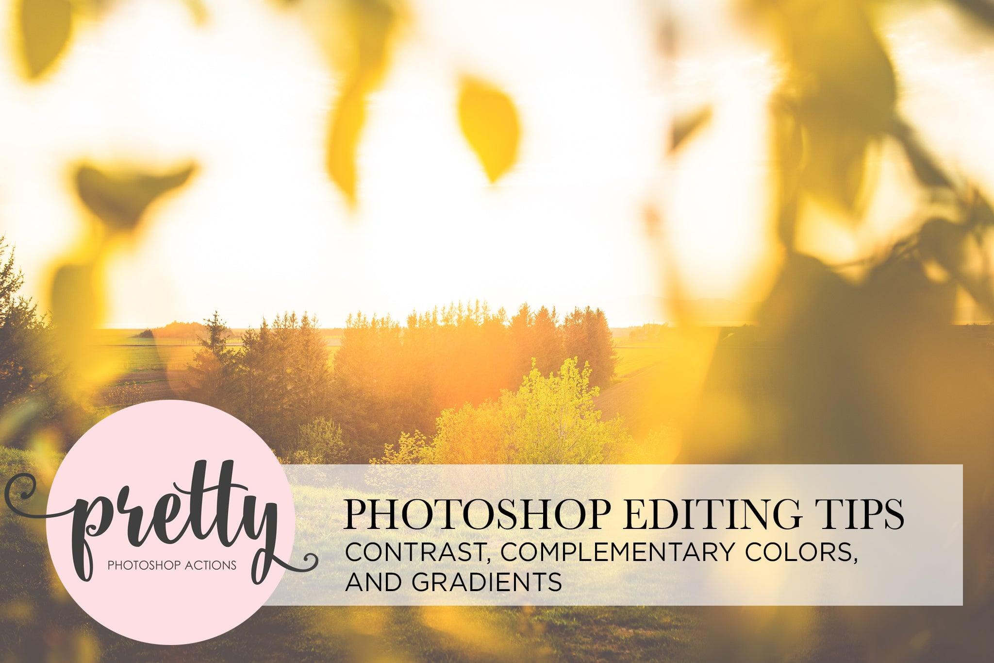 Photoshop Editing Tips