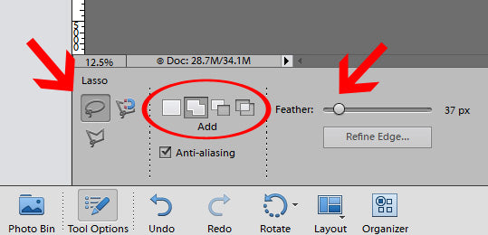 How to Use Lasso Tool
