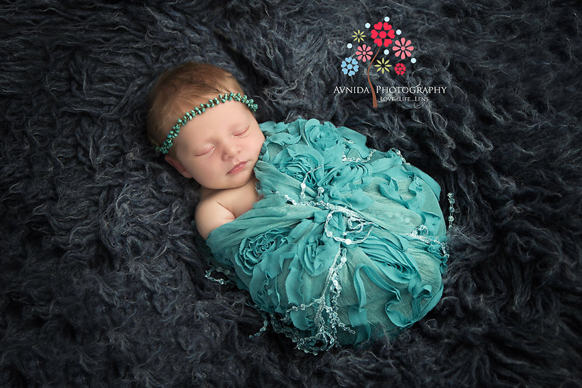 Newborn Baby Poses - Wrapped Pose