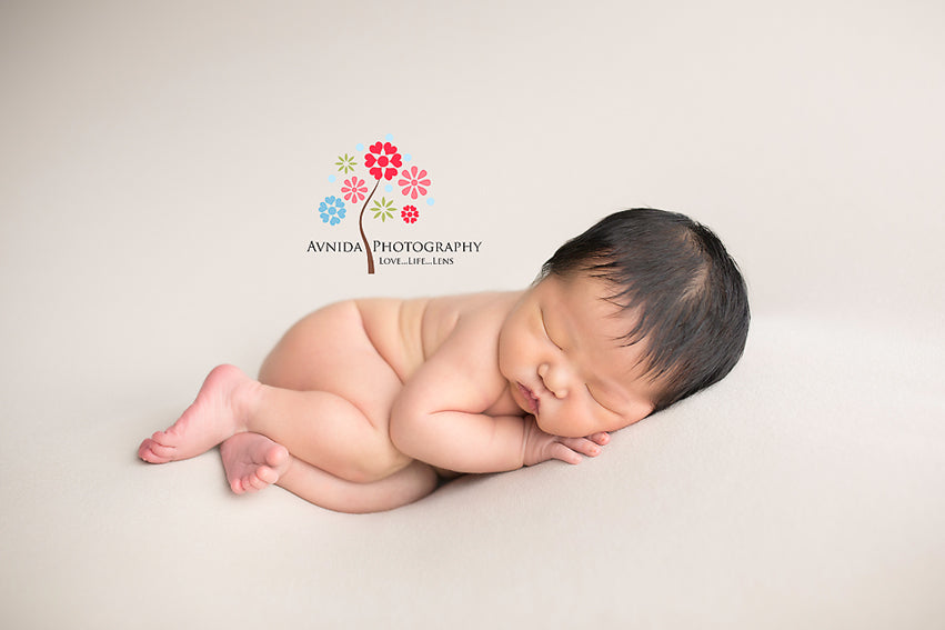 Baby Photography Side Pose