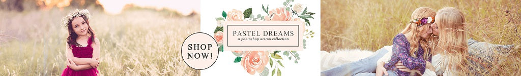 Pastel Photoshop Actions