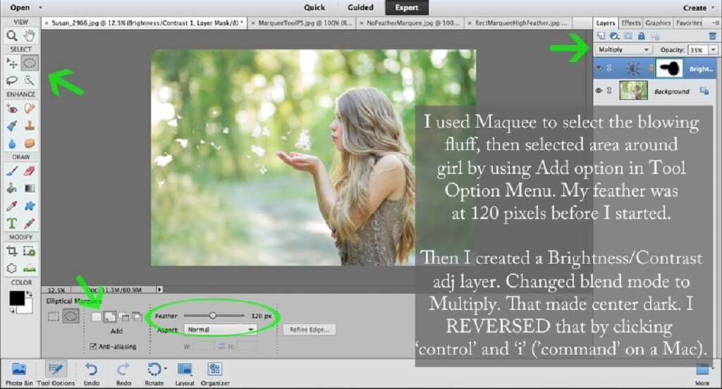 How to Use Marquee Tool Photoshop