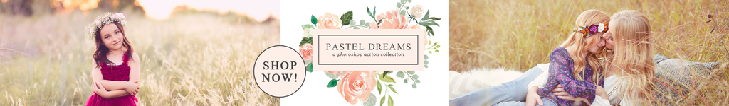 Pastel Dreams Photoshop Actions from Pretty Actions