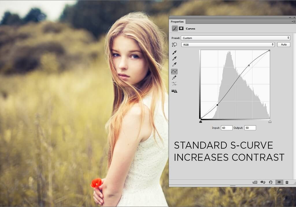 Where is Curves in Photoshop