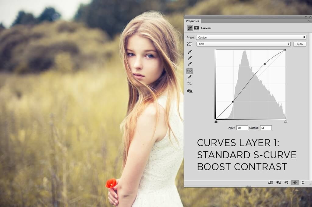Using Curves in Photoshop