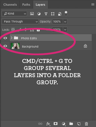 Photoshop CC Keyboard Shortcuts