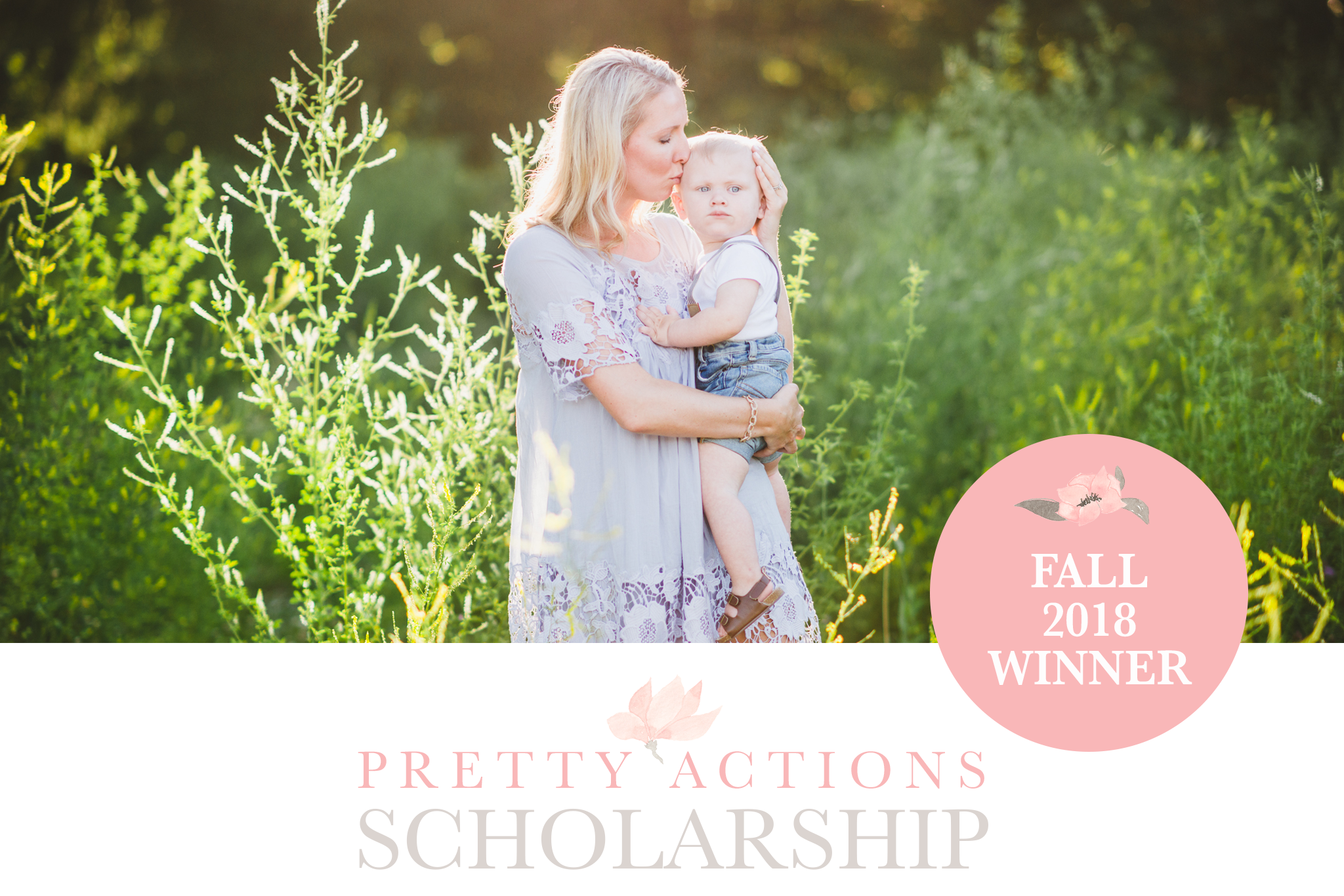 Winner of the Pretty Photoshop Actions Scholarship Fall 2018