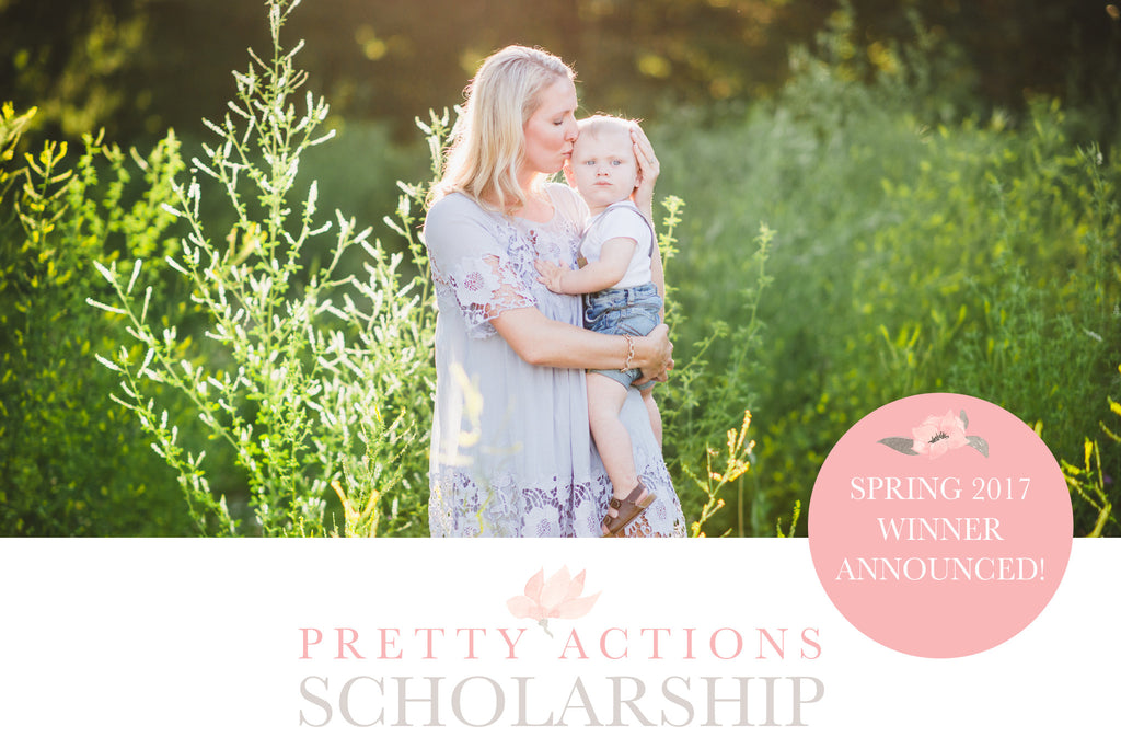 Pretty Photoshop Actions Spring 2017 Scholarship Winner
