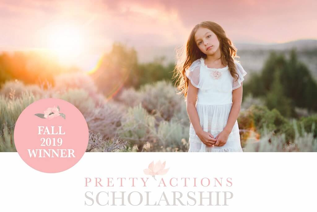 Pretty Photoshop Actions Scholarship Fall 2019 Winner