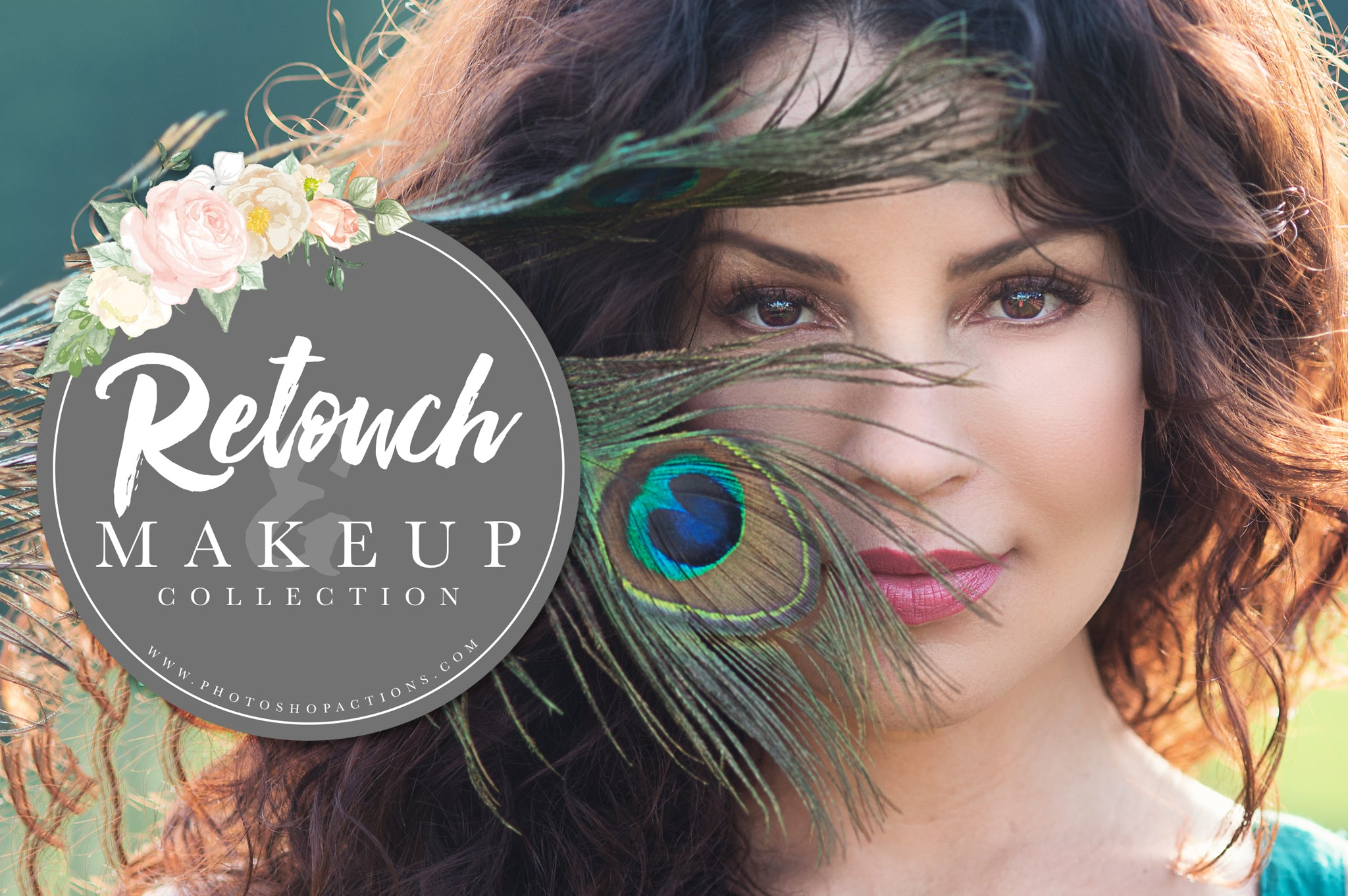 Pretty Retouch and Makeup Photoshop Actions and Brush Collection