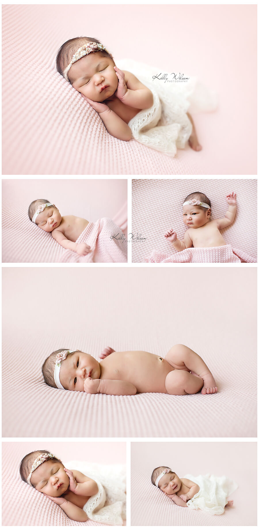 newborn posing examples for newborn photography