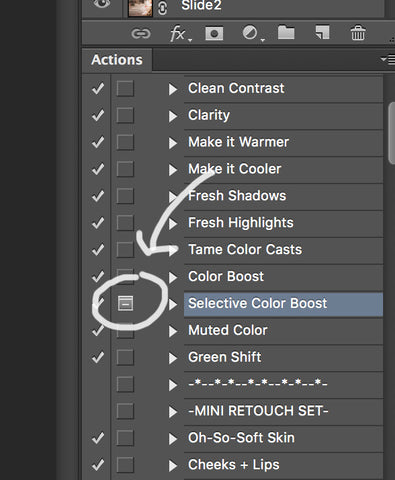 Find Which Photoshop Actions Have Pop Ups