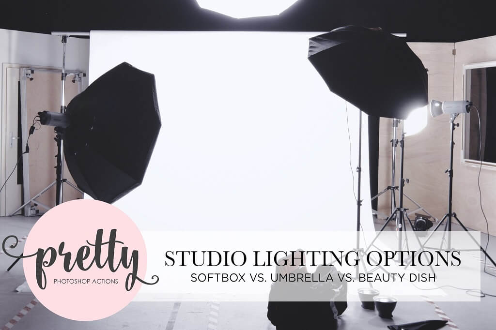 Softbox vs Umbrella vs Beauty Dish