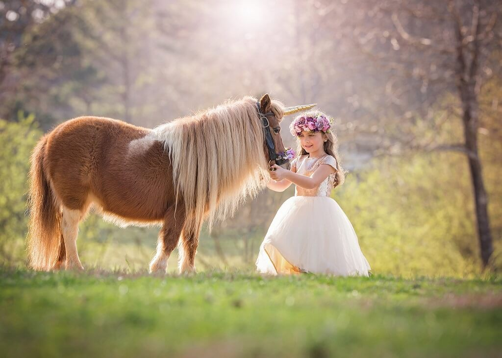 Unicorn Photography with Children