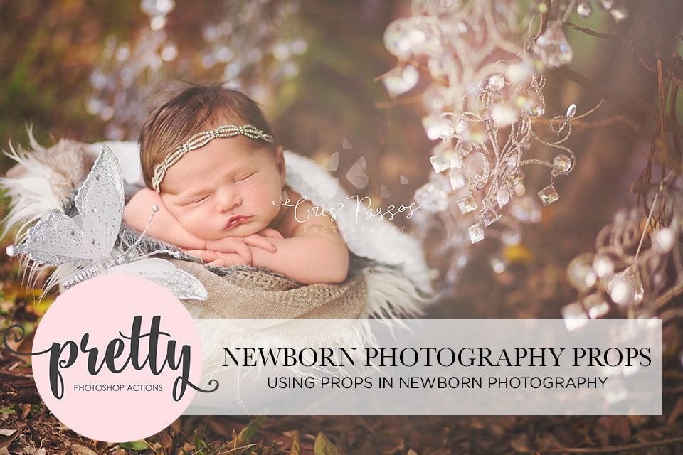 Using Props in Newborn Photography