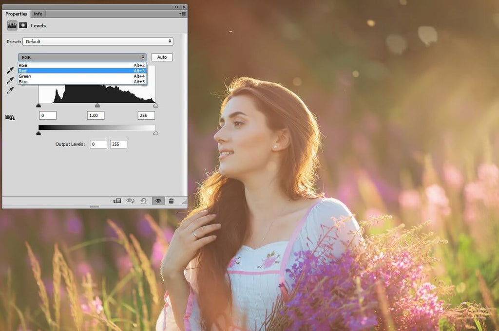 how to white balance in photoshop