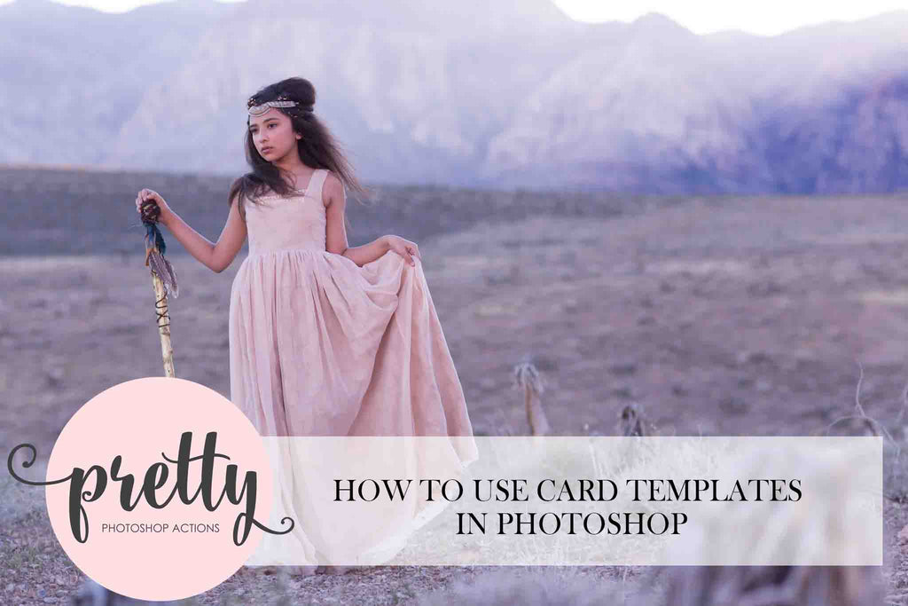 How to Use Card Templates in Photoshop