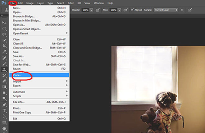 How to find your overlay in Photoshop