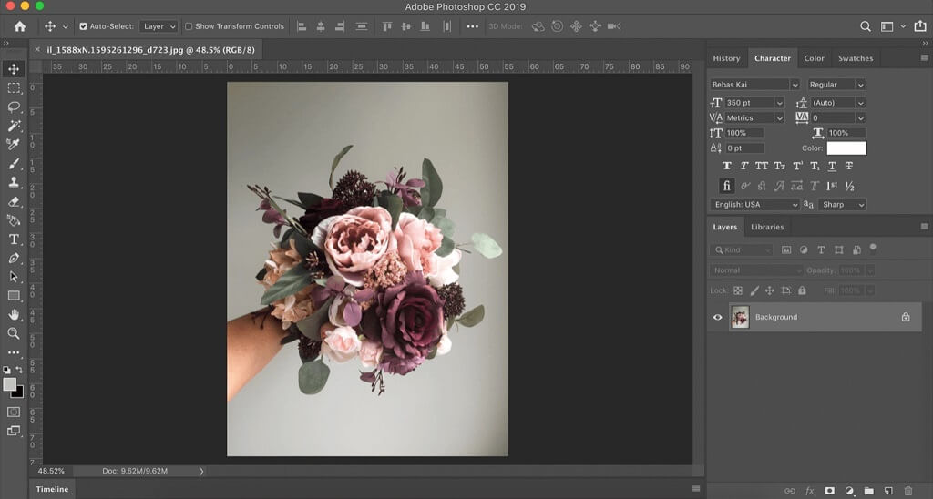 floral photoshop tutorial