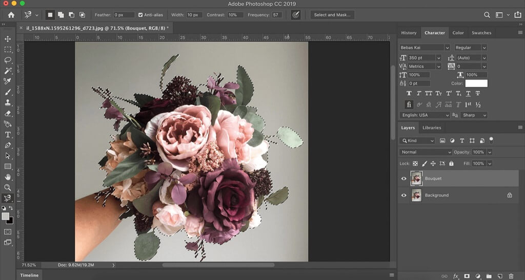 design flowers photoshop