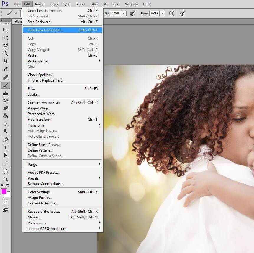 how to vignette in photoshop