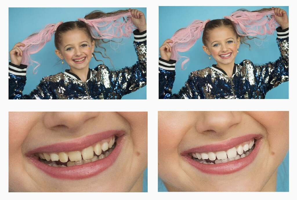 how to whiten teeth in photoshop