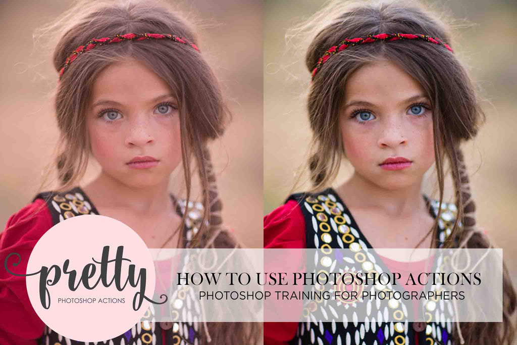 How to Use Photoshop Actions - Photoshop Training
