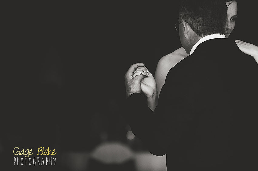 father daughter wedding dance - wedding photography