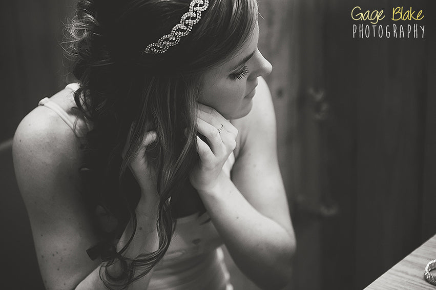 bridal jewelry - wedding photos