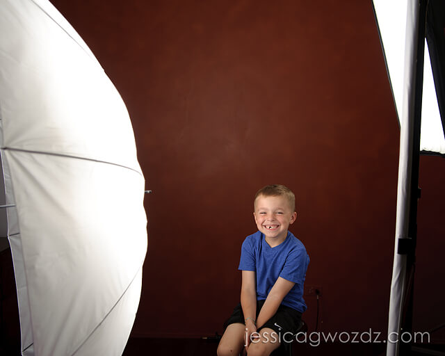 Umbrella Lighting vs Softbox