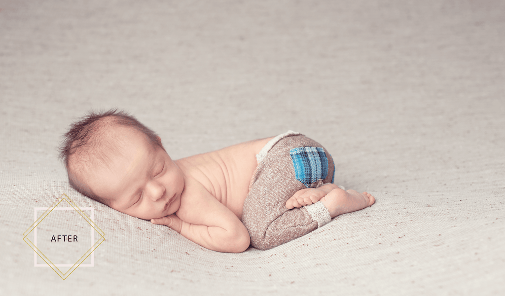 LUXE Newborn Complete Workflow - Pretty Photoshop Actions