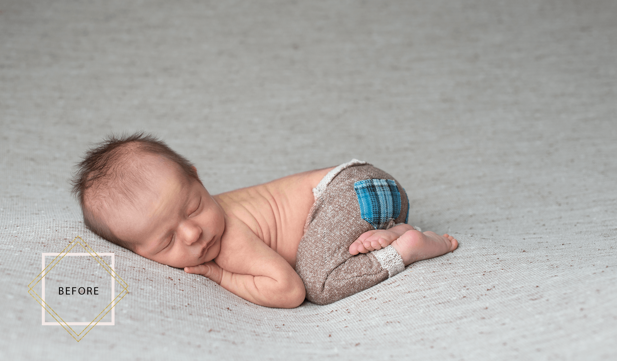 luxe newborn photoshop actions a complete workflow pretty