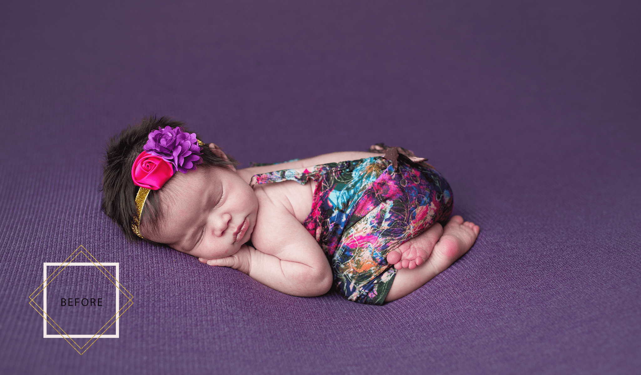 LUXE Newborn Photoshop Actions Collection