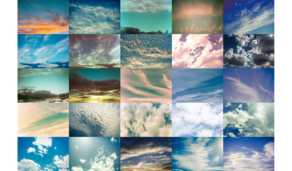 Montana Skies Cloud Overlays Vol 1 - Pretty Photoshop Actions