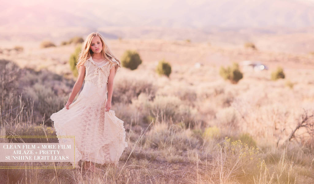 Film Photoshop Actions (Clean Film, Filmy Color, Pastel Dream Light Leak) - Pretty Actions