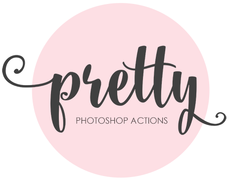 Pretty Photoshop Actions Logo