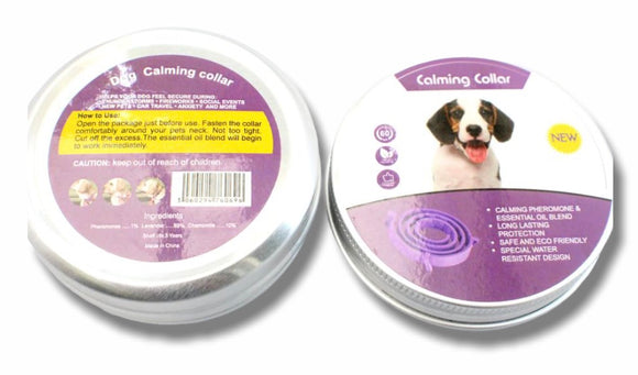 Calming collar for Dog with pheromone technology